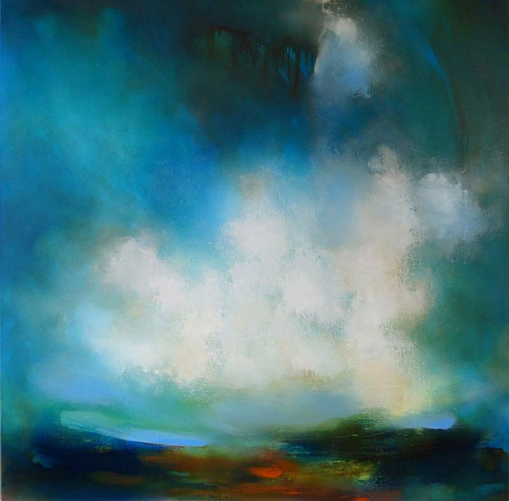Junction Art Gallery - Laura Rich 'Cornish Clouds' http://www.junctionartgallery.co.uk/artists/painting/laura-rich