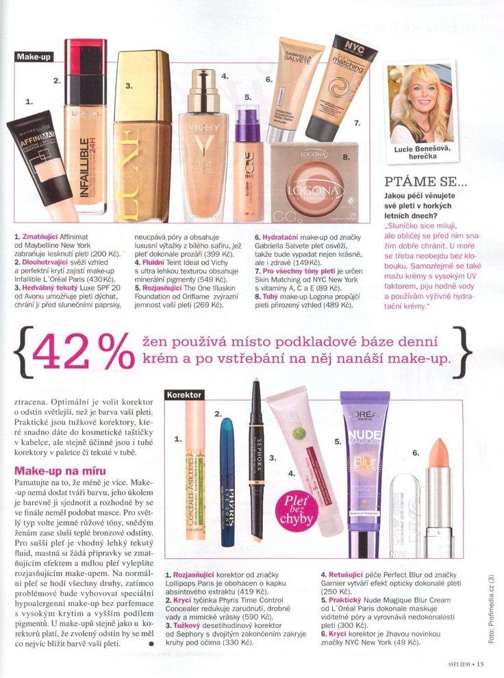 Svět ženy 8/2014 - CC make-up