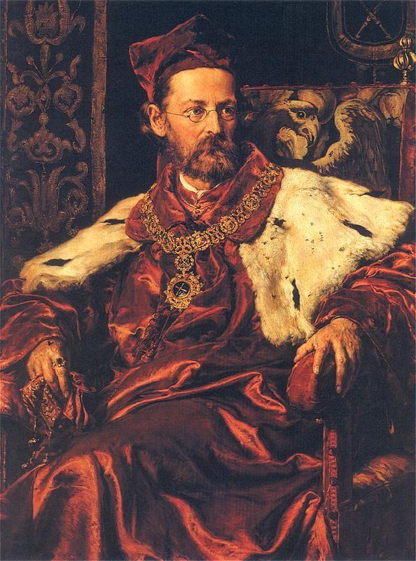 Portrait of Jozef Szujski by Jan Matejko (Polish 1873-1878)