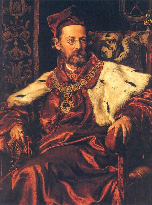 Portrait of Jozef Szujski by Jan Matejko (Polish 1873-1878)