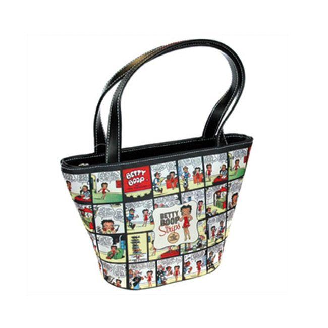 Joli sac fantaisie de marque Betty Boop - Sac à main pour femme au design bande dessinée - Petit sac femme pas cher en vente sur La Maison Tendance http://www.lamaisontendance.fr/catalogue/petit-sac-fantaisie-betty-boop/