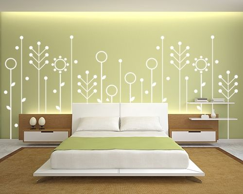 139 best Wall Decorating Ideas images on Pinterest | Bedrooms, Green ...