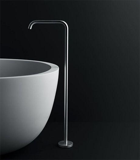 Detail boffi badewanne aus mineralwerkstoff corian bad for Mineralwerkstoff
