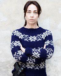 Warm angezogen gegen das Böse: Kommissarin Sarah Lund (Sofie Gråbøl)