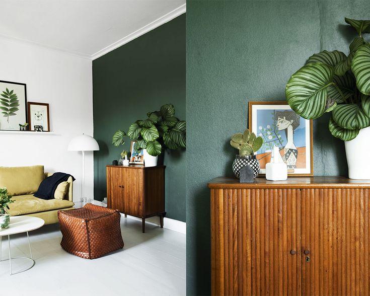 25 beste idee n over blauwe slaapkamer muren op pinterest blauwe slaapkamers blauwe - Kleur trap schilderij ...