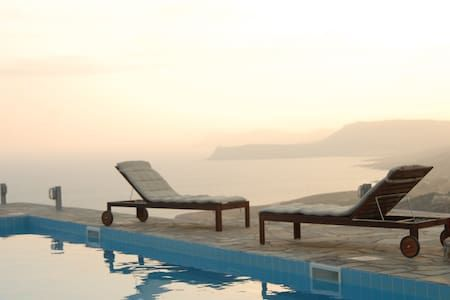 Check out this awesome listing on Airbnb: De Luxe Villa with pool*8 per*Panoramic Sea View! - Villas for Rent in Sitia