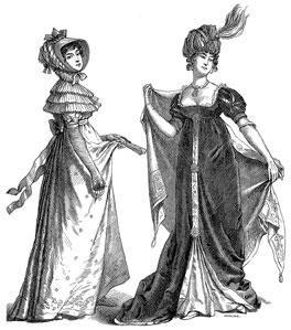 История костюма в западной европе 19 век