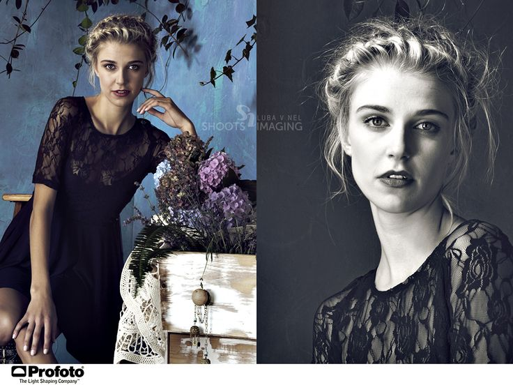 Romantic lace dress and braided hair. Photo: Luba V Nel