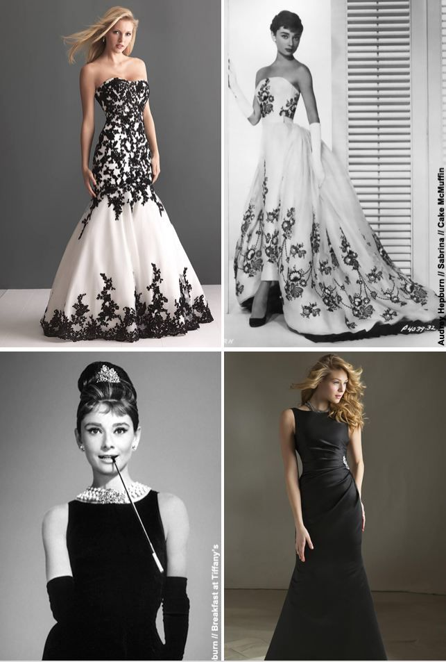 347 best images about gorgeous gowns on pinterest prom for Audrey hepburn inspired wedding dress