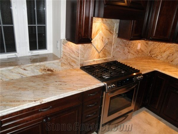 this is the way to do a granite backsplash this slab had a beautiful directionality - Granite With Backsplash