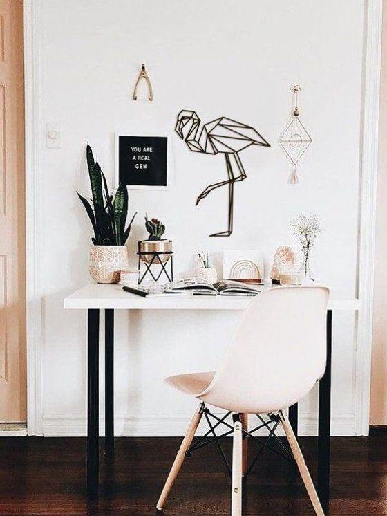 Metal Wall Art Geometric Flamingo Sign Animal Interior Home Decor Polygonal Scandi Minimalistic Offi Animal A In 2020 Home Office Decor Decor Essentials Home Decor