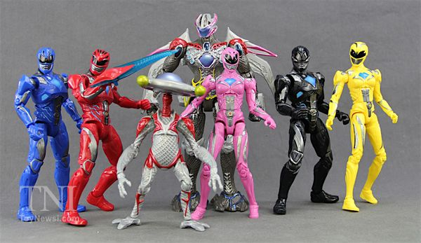 """2017 Power Rangers Movie 6.5"""" Legacy Collection Figures Video Review & Images"""