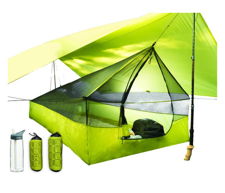 Escapist Tarp l Light weight backpacking l ultralight camping gear l seatosummit.com