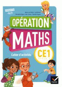 Mathématiques CE1 Cycle 2 Opération maths - Cahier d'activités /Marie-Lise Peltier et Joël Briand. https://hip.univ-orleans.fr/ipac20/ipac.jsp?session=E4S38J7388743.2798&menu=search&aspect=subtab66&npp=10&ipp=25&spp=20&profile=scd&ri=&index=.IN&term=978-2-401-00025-4+&oper=AND&x=19&y=23&aspect=subtab66&index=.TI&term=&oper=AND&index=.AU&term=&oper=AND&index=.TP&term=&ultype=&uloper=%3D&ullimit=&ultype=&uloper=%3D&ullimit=&sort=