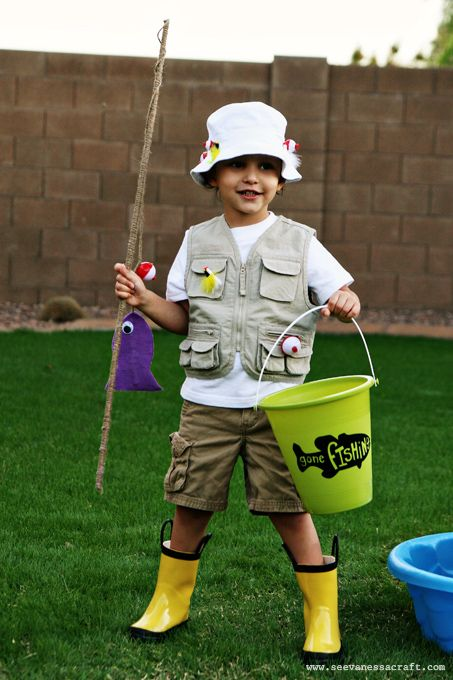 Easy Last Minute Fisherman #Halloween Costume