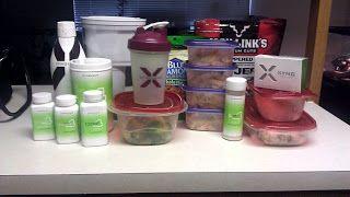 Xyngular Sensation: Ignite 8 Day Sample Menu