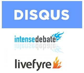 Disqus, Intense Debate and Livefyre logos http://www.livefyre.com/profile/11978735/