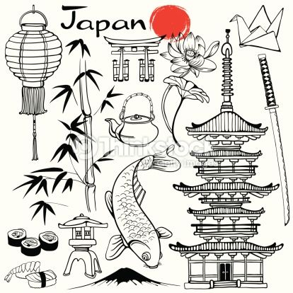 Resultado de imagen de ELEMENTOS CULTURALES JAPONESES