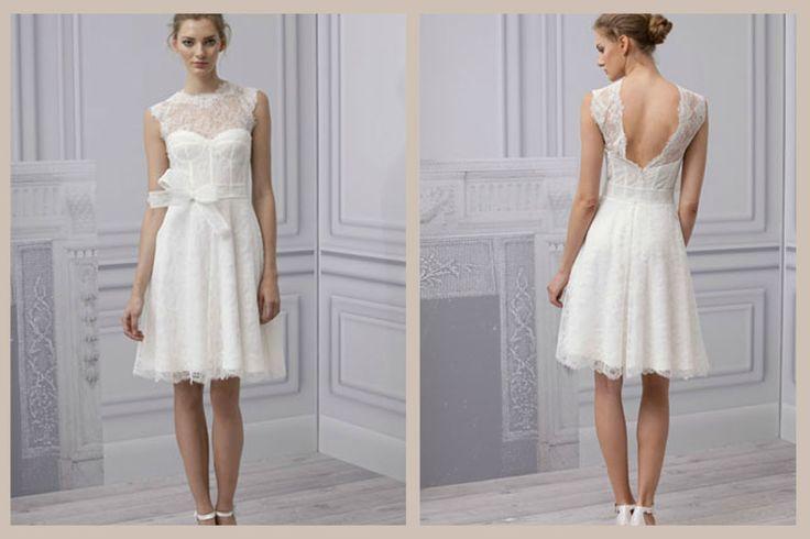 104 best wedding plans images on pinterest bridal for Simply white wedding dresses