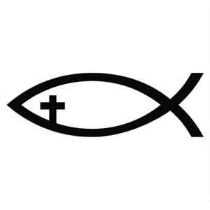 1000 ideas about jesus fish tattoos on pinterest fish for Christian fish sign
