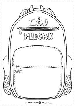 Mój plecak - Printoteka.pl