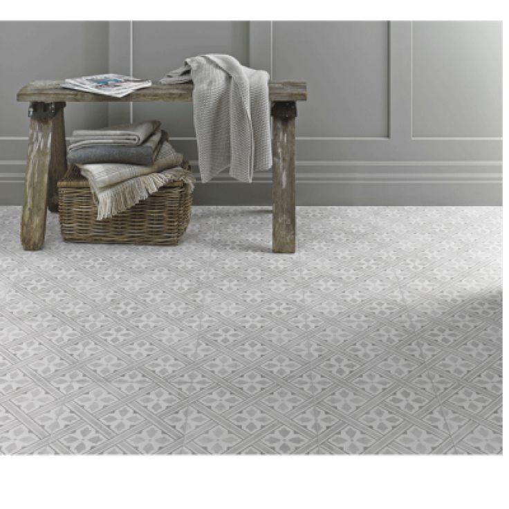 Image for Floor Tile Laura Ashley The Heritage Collection Mr Jones Dove Grey 331mm x 331mm LA52017 9 Tile Per Pack