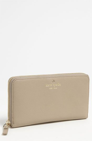 kate spade new york 'cobble hill - lacey' zip around wallet available at #Nordstrom