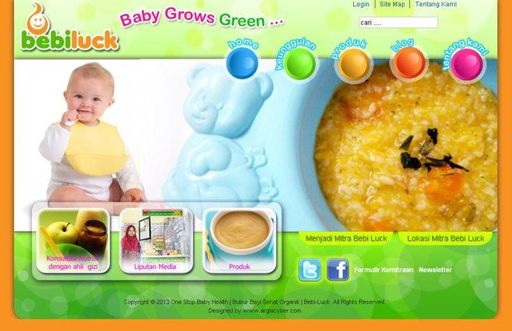 Website Frainchise yang menjual bubur bayi - Bebiluck. bebiluck.com