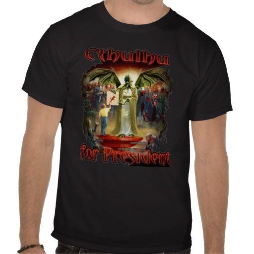 Çt͘͢h̸u̧l̸h͞ù fo͞r͜ ̶́P̶̡r̕͡es̸ì͢͜d͏e̸ņ̴̸t̨!̨̕͡ T Shirt
