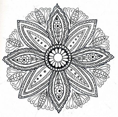 mandala, id love this in my tattoo