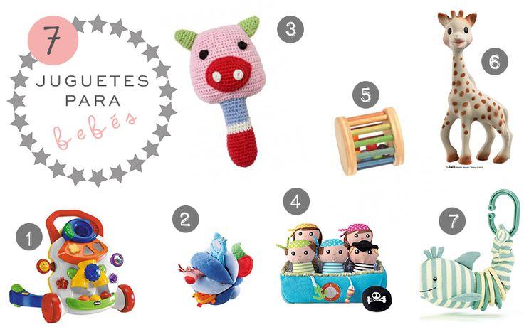 7 juguetes para bebés #juguetes #bebés #juguetesparabebes #toys #baby