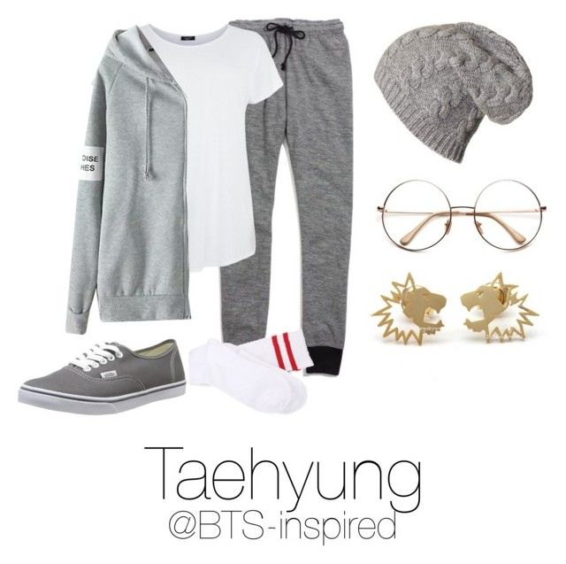 """Taehyung Ideal Type"" by bts-inspired ❤ liked on Polyvore featuring Madewell and Vans"