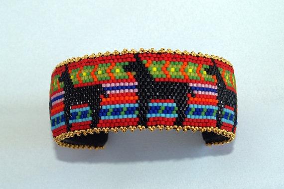 Llama Cuff Bracelet  Etsy,