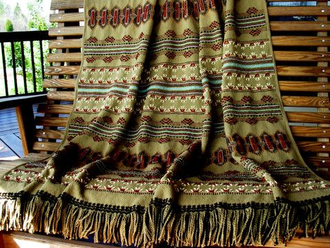 Beautiful southwest swedish weaving pattern.  Would love to try it.