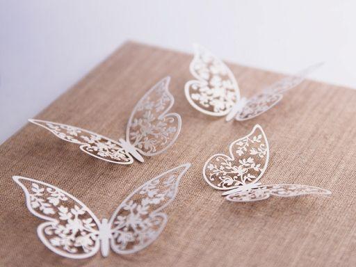 Butterfly paper confetti #wedding #weddingday #slowwedding #bohowedding #weddingdeco
