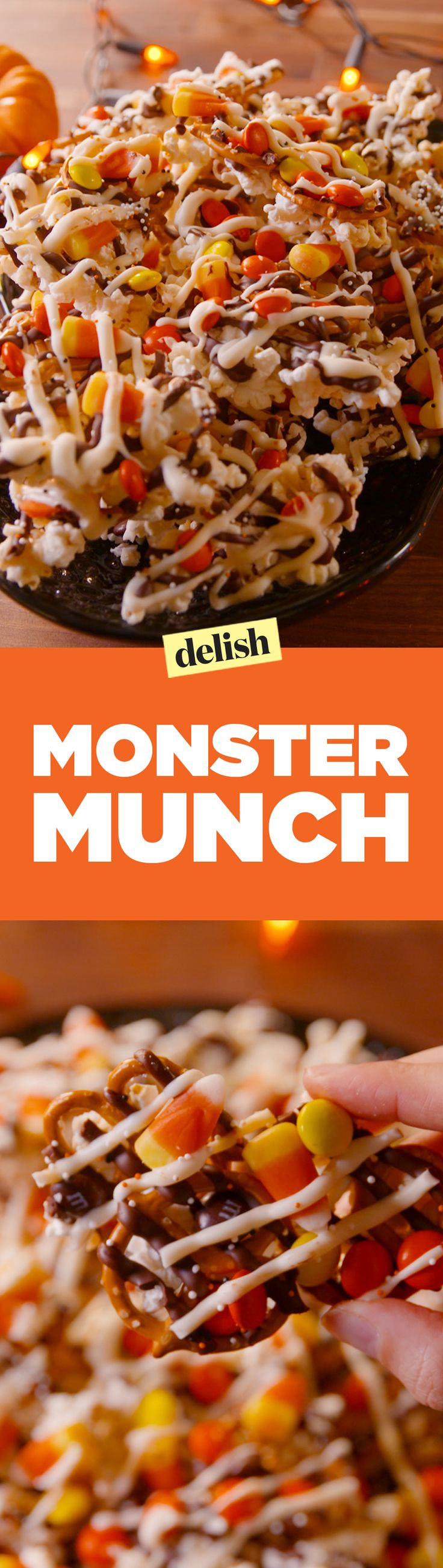 Monster Munch is this year's most popular Halloween treat. Get the recipe on Delish.com.