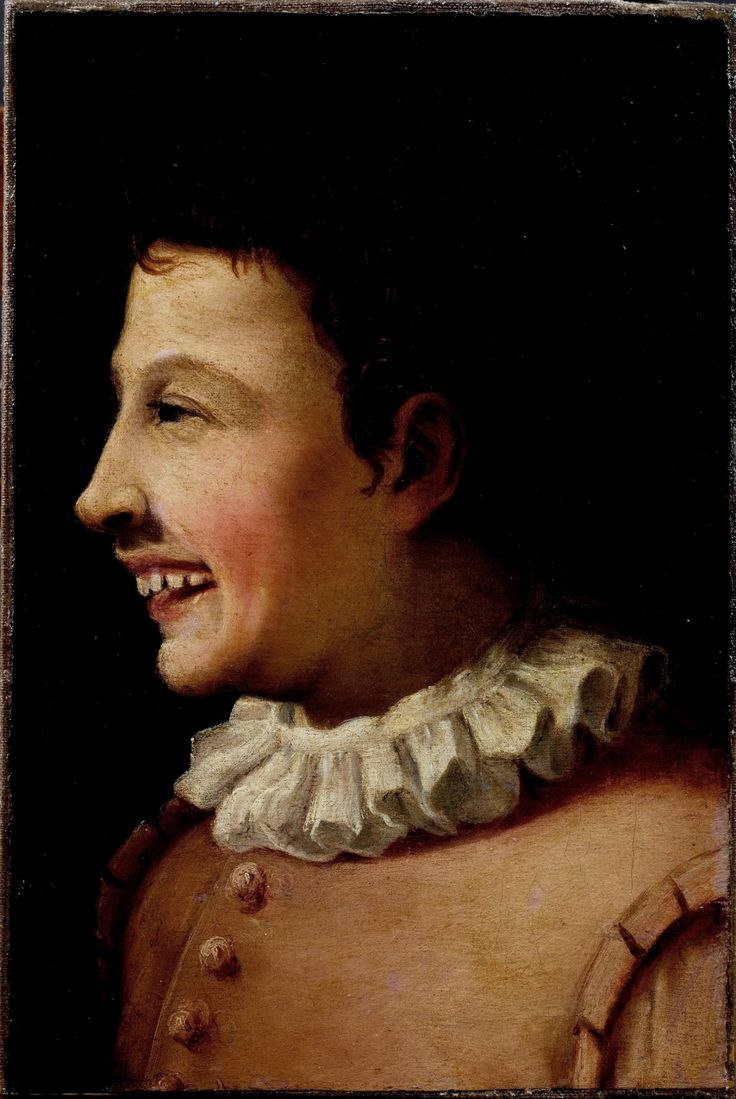 Carracci Annibale - Smiling Boy, 1581-82