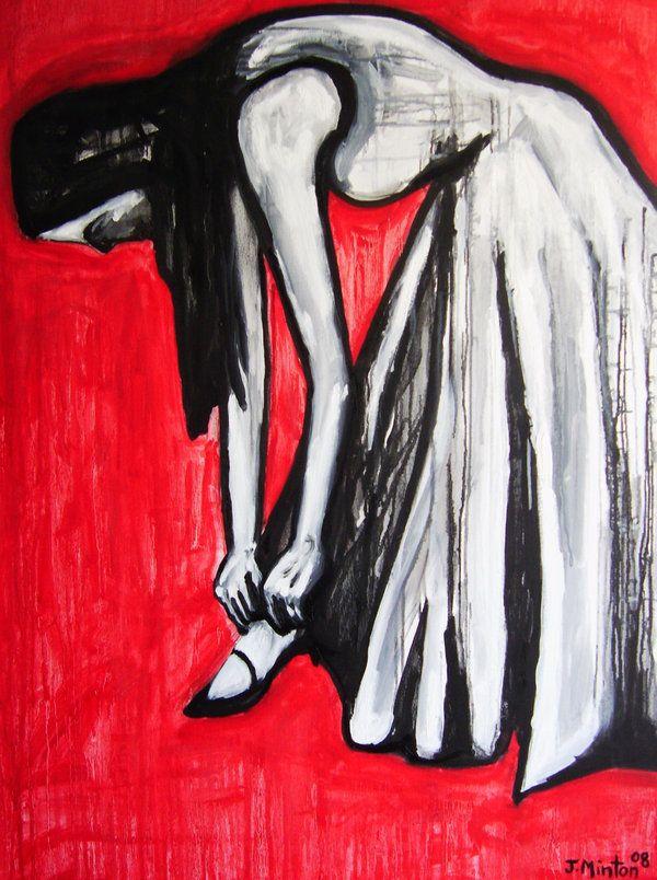 The World Won't Wait  Expressionism Art \ Painting  By. Joseph Minton    http://www.josephmintonart.com/