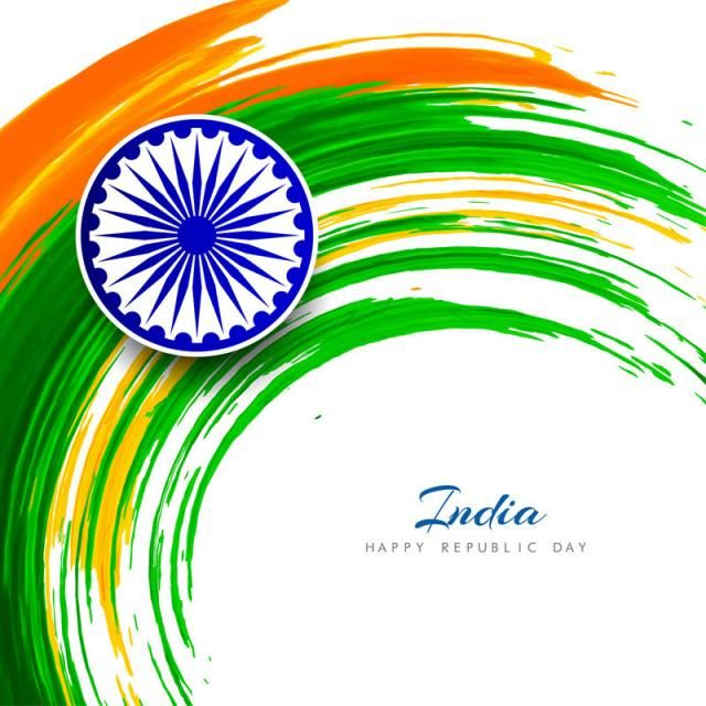Abstract Indian Flag Theme Background Design Flag Of India 15 August Flag Indian Festival Png And Vector With Transparent Background For Free Download Indian Flag Theme Background Republic Day