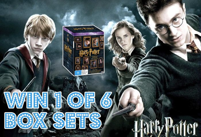 Hey muggles, who's a Harry Potter fan? Well, if your kids are, we've got 6 box sets of the magical movies up for grabs.      The books made a splash (okay, way more than a splash) with readers
