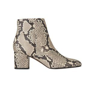 Snake print boots from Whistles