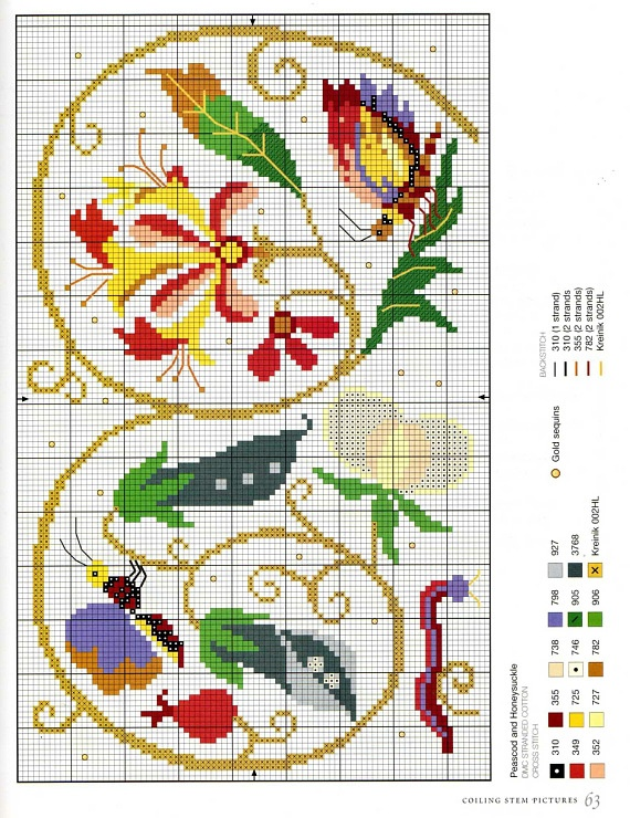Gallery.ru / Фото #61 - Elizabethan Cross Stitch - Orlanda