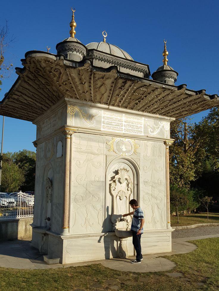 Fountain of the Ottoman Empire in Istanbul / Goksu