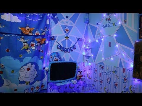 Kreasi Kamar Doraemon Terbaru 2019 Dengan Tumblr Lamp Youtube Doraemon Desain Hello Kitty New small doraemon room kamar