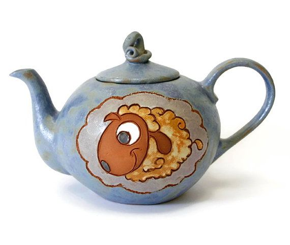 Teapot Pottery teapot Coffee Pot Pottery by MMceramicdesign - handmade... teapots are special.  This one is VERY special