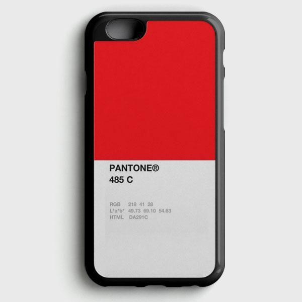 Pantone 485 C iPhone 6 Plus/6S Plus Case
