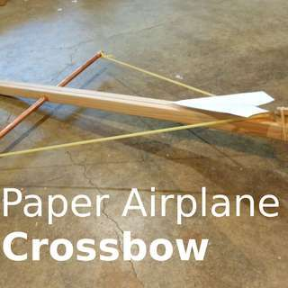 Paper Airplane Crossbow