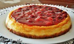 hülyalı lezzetler: Frambuaz Soslu Cheesecake