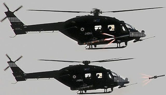 The Indian Army and Defence Research and Development Organisation (DRDO) successfully test-fired the new HeliNa anti-tank guided missile from a HAL Rudra helicopter. Out of the 3 HeliNa (which is a helicopter-launched version of Nag) that were fired, two hit their targets according to Vara Prasad, project director for HeliNa.