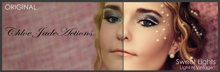 Actions for photographers.. this photo shows you the before and afters..